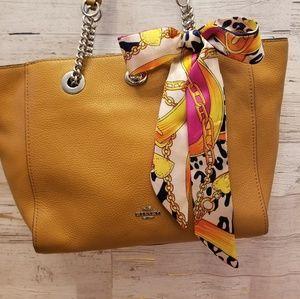 Trendy Silk twilly purse scarf / multi- use
